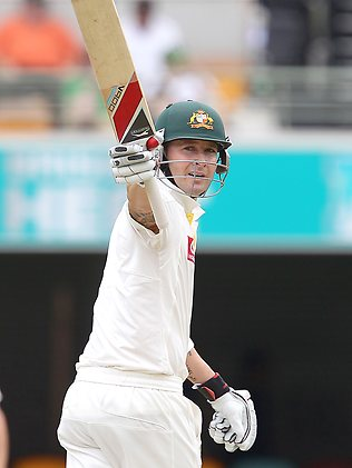 Michael Clarke Scored Century against New Zelanad