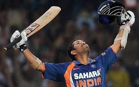 Sachin Tendulkar Scored 200 Runs