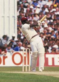 Vivian Richards Scored 189 Runs at Old Trafford in 1984