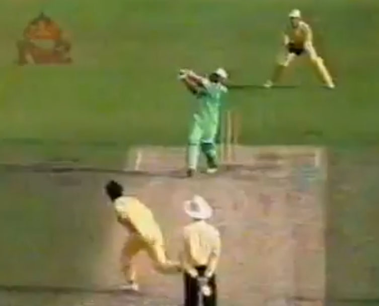 Asif Mujtaba's Last Ball Six in 1992