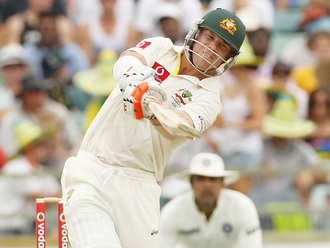 David Warner - The Star of 2nd Day