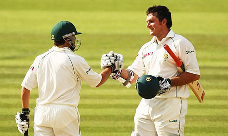 South African Openers Graeme Smith and Neil McKenzie hold the record of Highest 1st Wicket Partnership