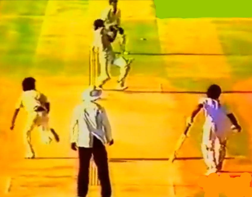 Javed Miandad&#039;s Last Ball Six Against India in 1986 at Sharjah