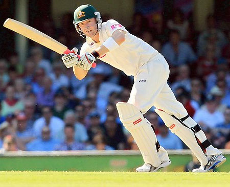 Michael Clarke unbeaten 251 runs helped Australia to score 482 runs