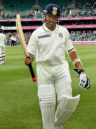 Sachin Tendulkar at Sydney Cricket Ground