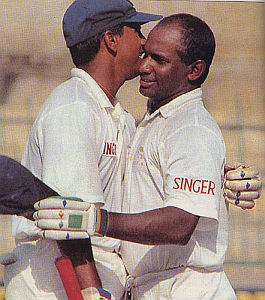 Sanath Jayasuriya and Roshan Mahanama - Highest 2nd Wicket Partnership