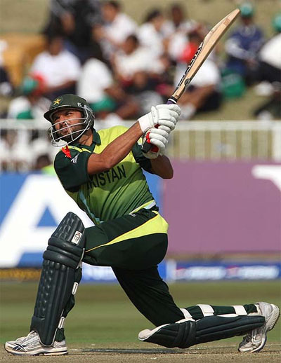 Shahid Afridi Holds the record of Fastest ODI Century