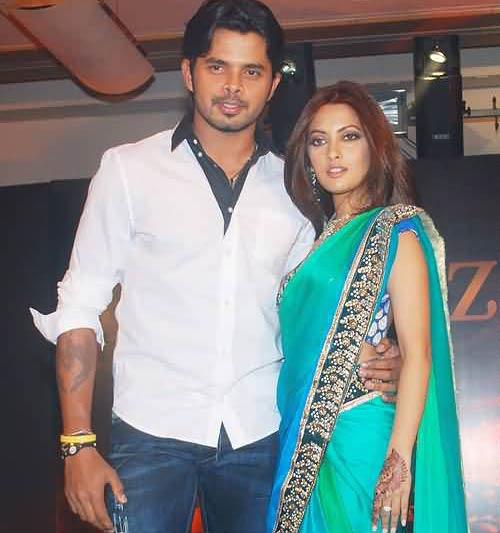Sreesanth and Riya Sen