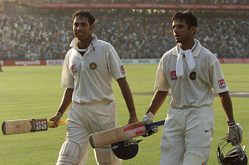 Can V V S Laxman and Rahul Dravid repeat 2003 success at Adelaide Oval