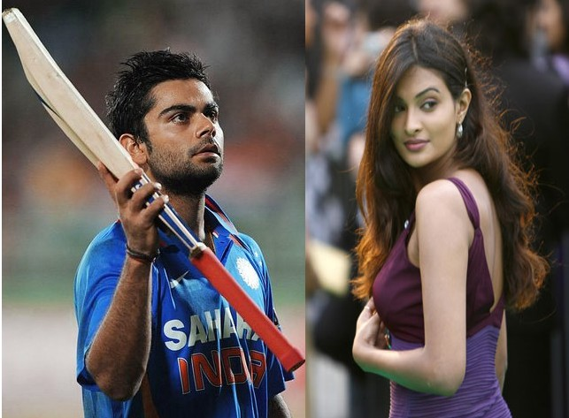 Virat Kohli and Sarah Jane Dias