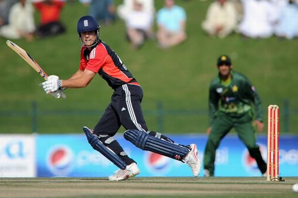 Alastair Cook scored his career best 137 runs against Pakistan