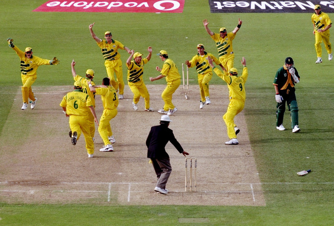 World Cup Cricket 1999 - Australia vs. South Africa - The most unfortunate tied match in ODI history