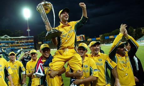 Australian Cricket Team of 2003 hold the record of longest winning streak in Cricket