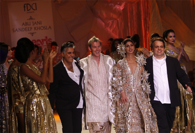 Brett Lee in India Fashion Week