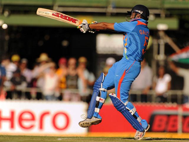 Gautam Gambhir scrored crucial 92 runs in the ODI against Australia