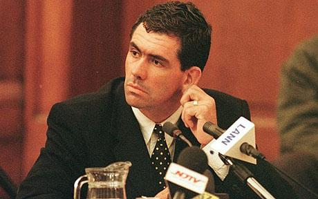 Hansie Cronje - The Australian Cricket who was caught red handed in match fixing and banned for the life
