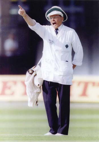 Harold Dennis Bird a.k.a Dicky Bird - The best Cricket Umpire of all time