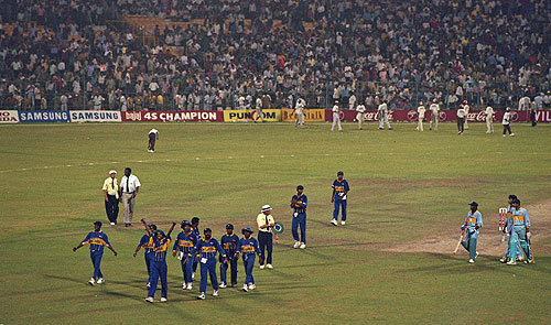 India Lost to Sri Lanka in 1996 Cricket World Cup Semifinals