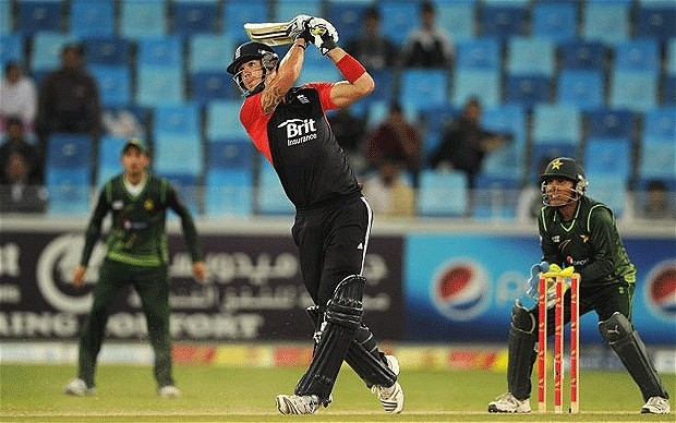 Kevin Pietersen smashed 62 runs in the 3rd T20 match against Pakistan
