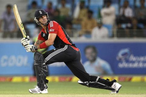 Kevin Pietersen Scored 111 runs in the 3rd ODI against Pakistan