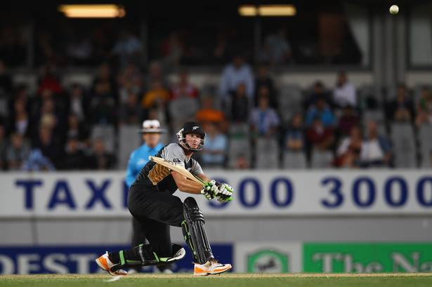 Martin Guptill scored 91 runs against Zimbabwe in the first T20 match