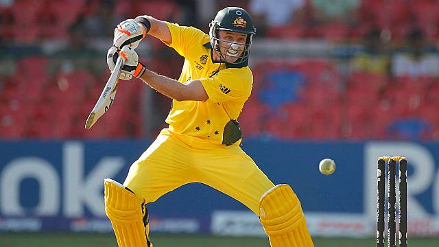Michael Hussey in 2011 Cricket World Cup