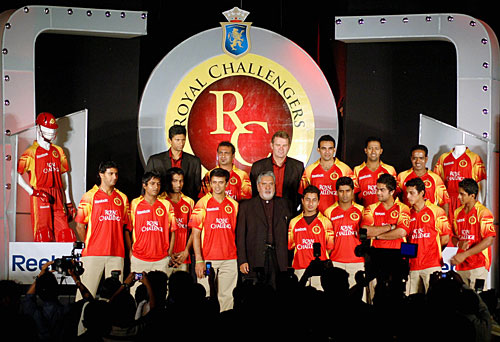 Royal Challengers Bangalore Team for IPL 2008