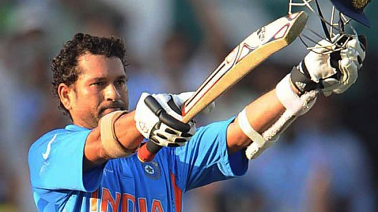 Sachin Tendulkar - The first batsman to blast 10,000 runs in ODI cricket