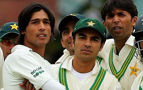 Salman Butt, Mohammad Amir and Mohammad Asif - The Pakistani Crooks who were convicted for match fixing and now cooling their heels behind bars in London