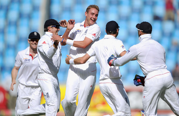 Stuart Broad broke Pakistan's back in the 3rd Test at Dubai