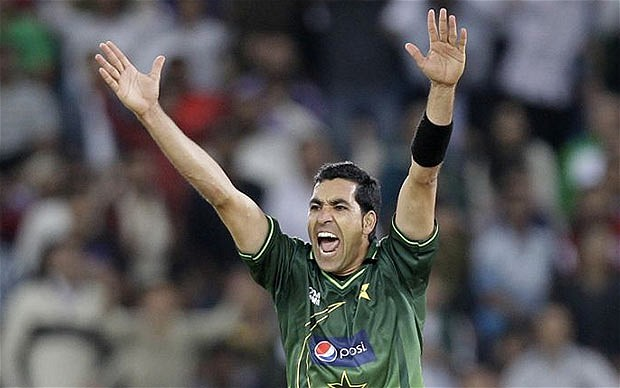 Umar Gul took 3 wickets in the 1st T20 victory over England