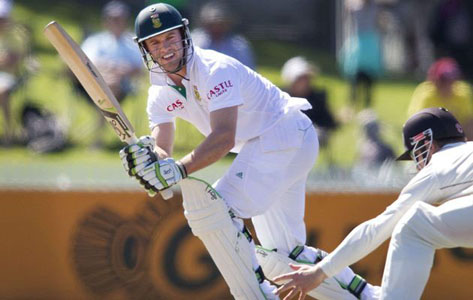 AB de Villiers played a superb knock of 83