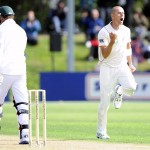 Chris Martin confined South Africa to 191-7 on the opening day – first Test