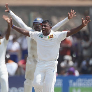 Rangana Herath - destroyed England batting by grabbing 12 wickets
