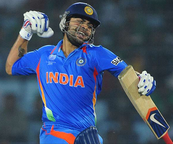 Virat Kohli's life best 183 runs helped India to win crucial match in Asia Cup 2012