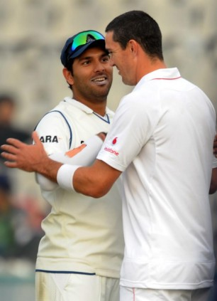 "Kevin Peitersen called Yuvraj Singh  ""left-arm filth"" and a ""pie-chucker"""