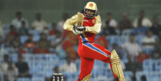 Chris Gayle - Royal Challengers Bangalore 'Player of the series'
