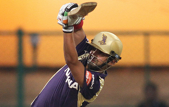 Gautam Gambhir - Led Kolkata Knight Riders from the front by smashing unbeaten 66