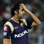 Gautam Gambhir distressed by the performance of the middle order