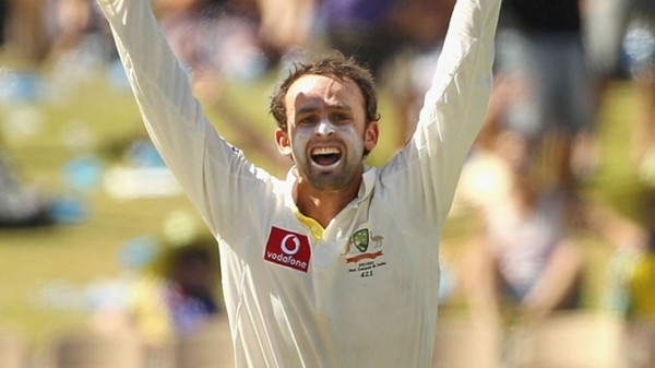 Nathan Lyon - Star of the day with 5 wickets