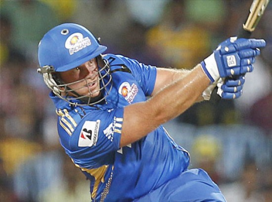 Richard Levi - 'Player of the match' Mumbai Indians