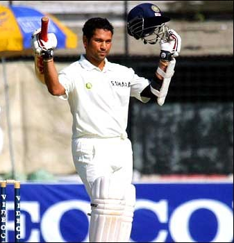 Sachin Tendulkar's highest test score - 248 not out against Bangladesh in Dhaka 2004