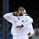 Shane Shillingford rules on the first day  West Indies vs. Australia 3rd Test