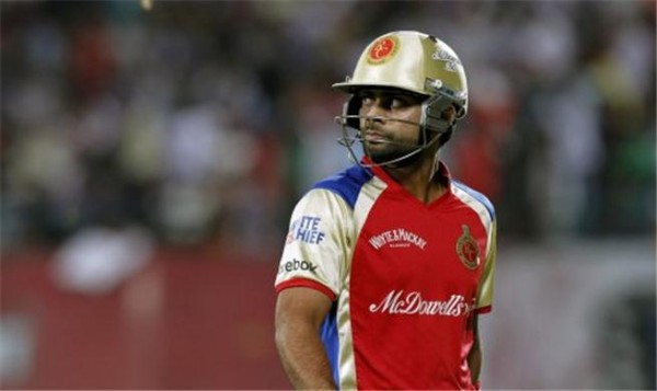 Virat Kohli - Below par performance in the IPL 2012