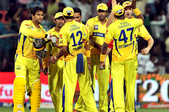 Chennai celebrate as Mumbai wilt