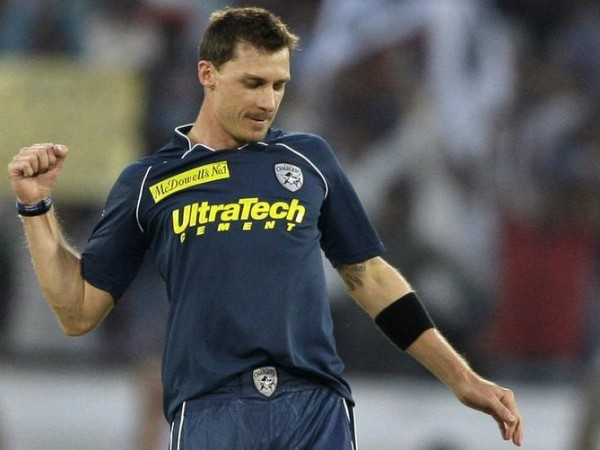 Dale Steyn - 'Player of the match' for his excellent bowling spell