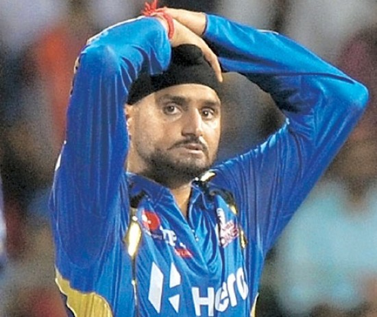 Harbhajan Singh - Displeased with the middle order batsmen
