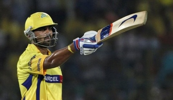 Murali Vijay - Hero of the match with a superb ton