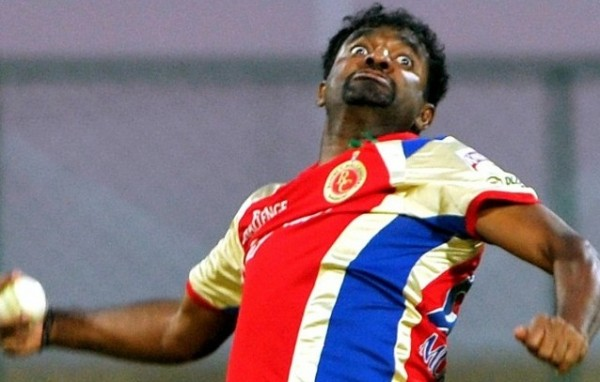 Muttiah Muralitharan - The magician in action in the IPL 2012