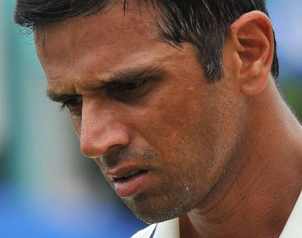 Rahul Dravid - Disappointed with the performance of his batsmen